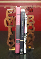 Emily Wooden Name Book-End