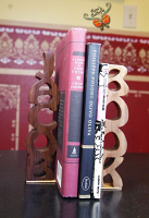 Jacob Wooden Name Book-End