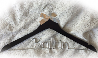 Kailtin hanger,wedding hanger,Personalized Hanger,Custom hanger,wire name hanger,Bridesmaids hanger,bride hanger