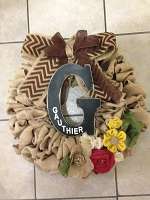 Custom Build Burlap Wreath